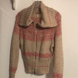 Free People Sweater Jacket